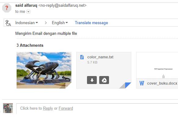mengirim email multiple file attachment