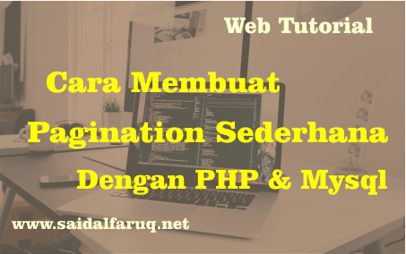 pagination sederhana