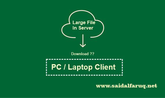download file berukuran besar dengan php