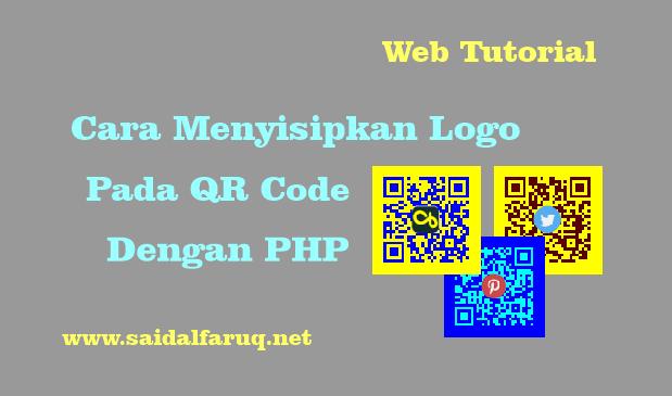 menyisipkan logo pada qr code