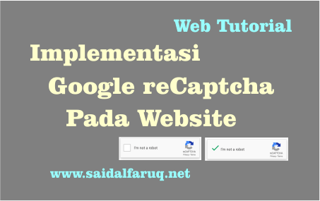 implementasi google recaptcha