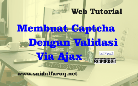 captcha with ajax